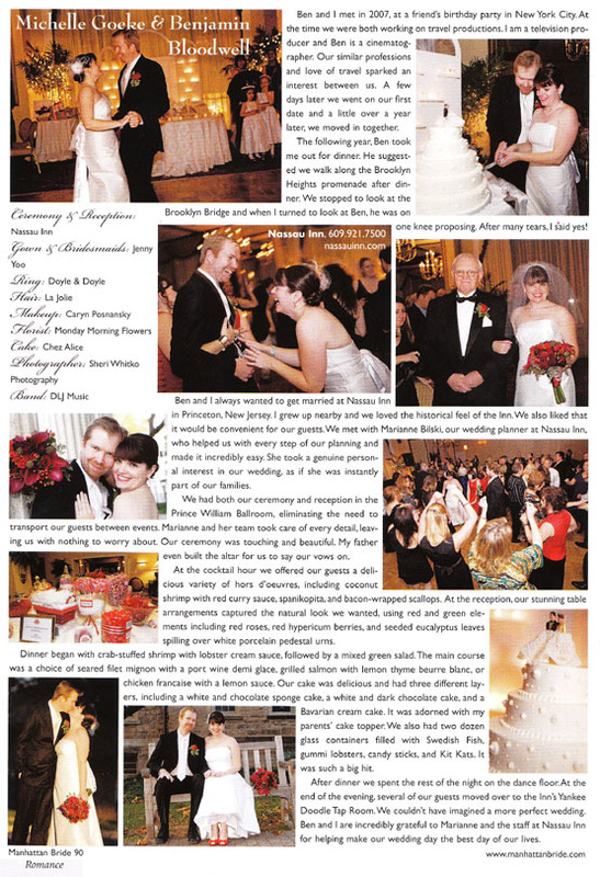 Wedding article featuring Monday Morning Flower and Balloon Company